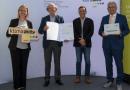 Zell am Moos: Klima Aktiv Ehrung für Radweg