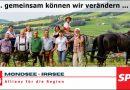 SPÖ Mondseeland am Wochenmarkt in Mondsee